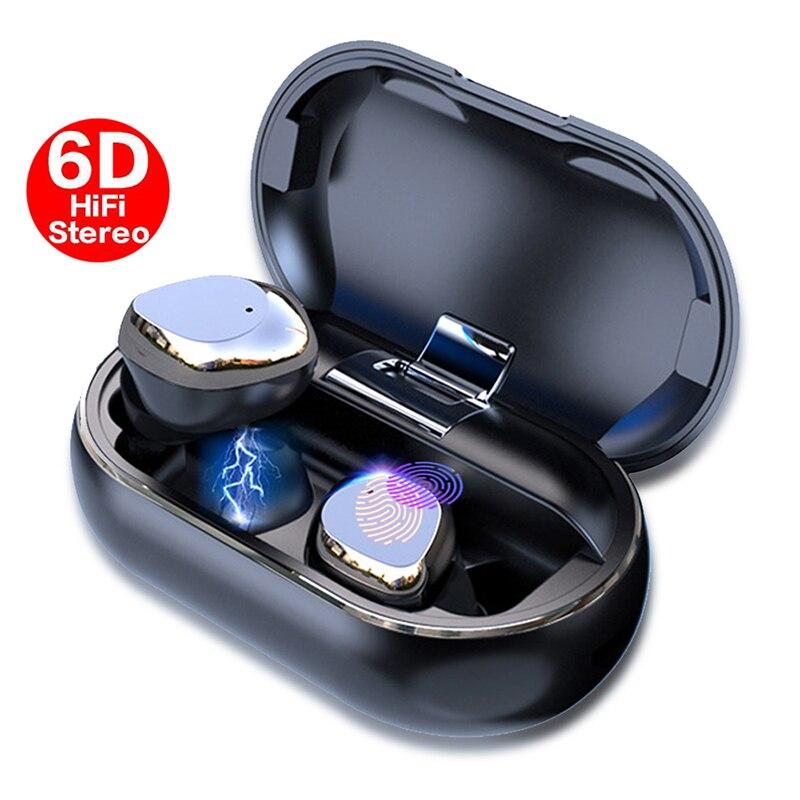 X26 TWS Bluetooth 5.0 True Wireless écouteurs Smart étanche stéréo Hifi écouteur avec étui de charge
