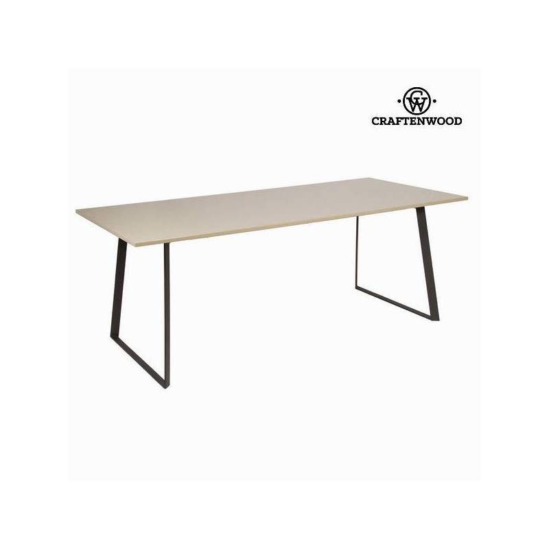 Dining Table Liv Moka Gray-Collection Modern By Craftenwood
