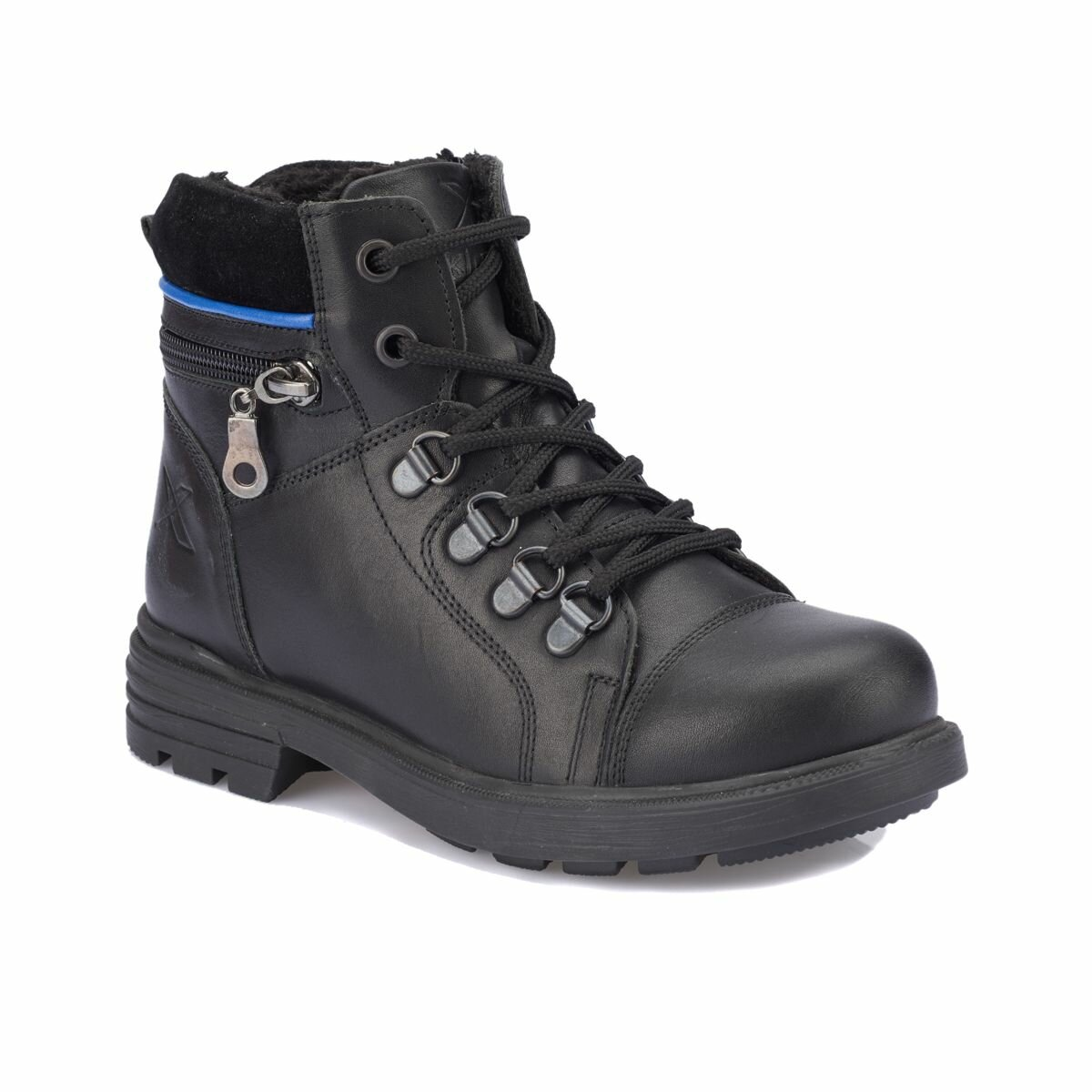 FLO KARDANO Black Male Child Boots KINETIX