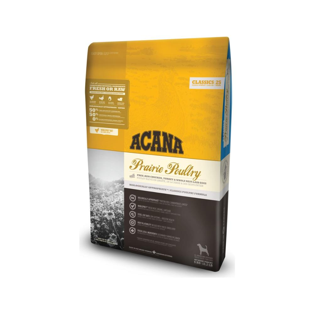 Acana Classics Prairie Poultry Dog Food 2 Kg Healthy Growth Feeding Pet Food