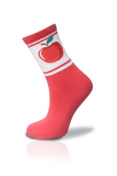 Red Apple Socket Socks Unisex 36 42