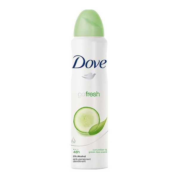 Spray Deodorant Go Fresh Dove (200 Ml)