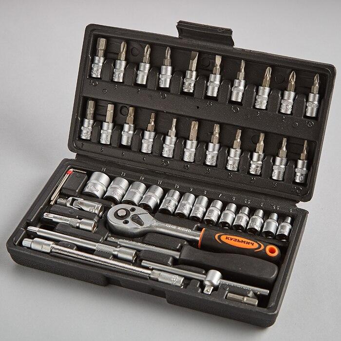 Tool Kit In Case кузьмич 45 Items ник-017/45