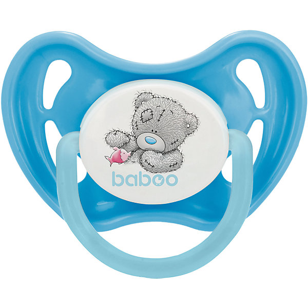 Pacifier Silicone Baboo Me To You With 0 Months, Blue