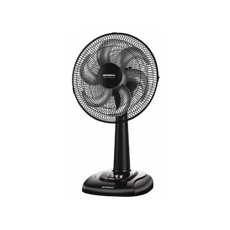 Fan Desktop Mondial V63 45W 30 Cm Black