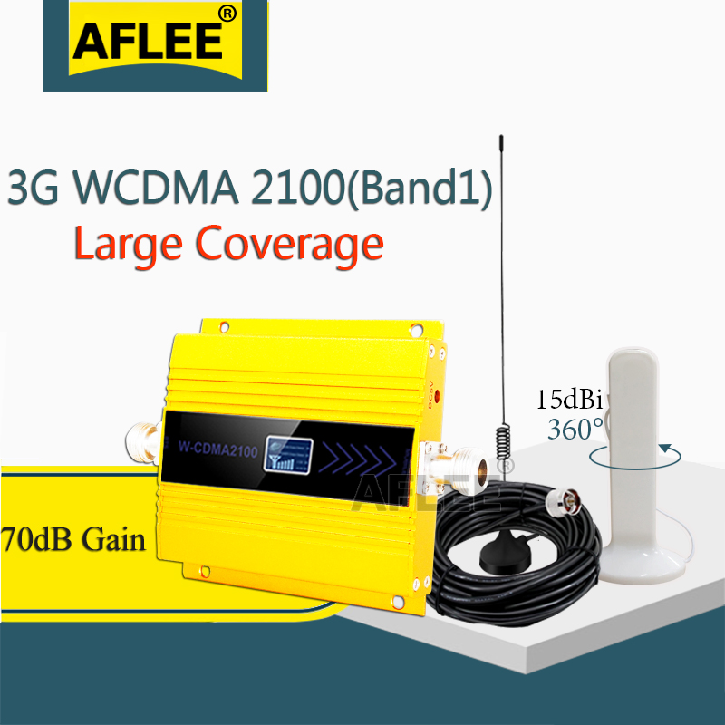 Hot!! 3G Amplifier WCDMA 2100 3g Signal Repeater LTE 2100Mhz 3g 4g Cellular Amplifier UMTS 2100mhz 3G Cell Phone Signal Repeater