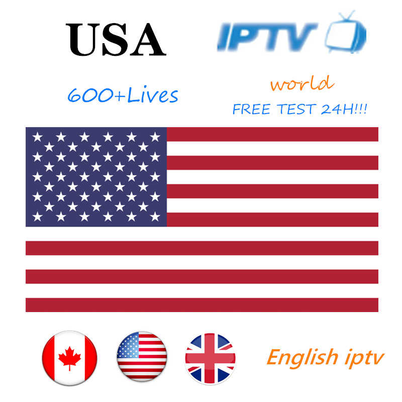 Free Test IPTV USA Subscription 1 Year IPTV canada Abonnement IPTV Subscription M3U with Germany UK for TV box France Spain