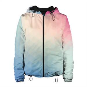 Женская куртка 3D Геометрия