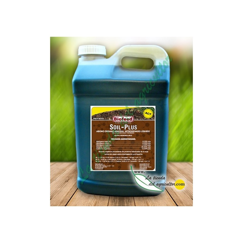 Manure universal, activator raised access floors, raised floor more fertile and best nutrients absorption. Fertilizer for raised floor ACT. SOIL-PLUS IN 10L- image