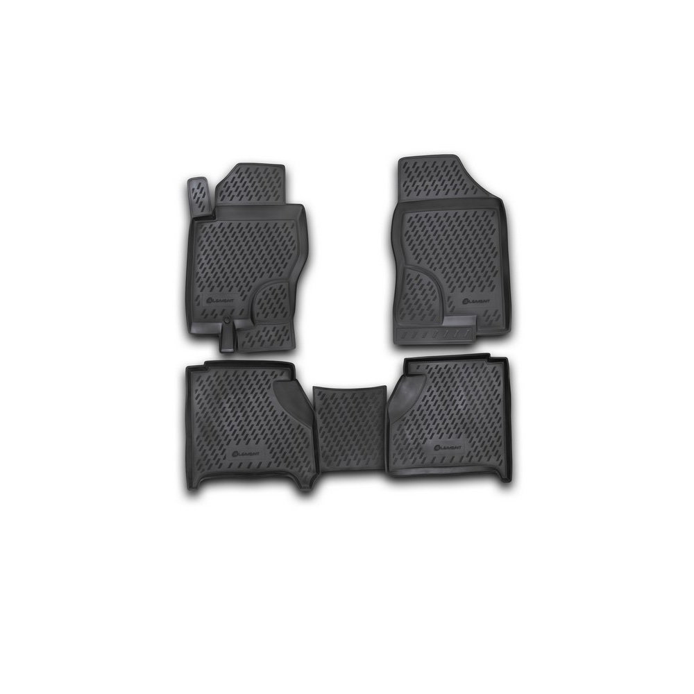 Floor Mats For NISSAN Navara AUTOMATIC 2005-> 4 PCs CARNIS00007