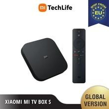 (EU VERSION) Mi TV Box S (Brand New, smart android tv Box 4K HDR Android 8.1 2G 8G WIFI, Google Cast Netflix)