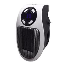 Mini Heater Desktop Ultra-quiet Winter Warm Fan Heater Electric Heater Home Office Wall Handy Heating Stove Radiator 4 6 inch electric heaters students office home desktop heater quartz tube type small heater for winter heating device black