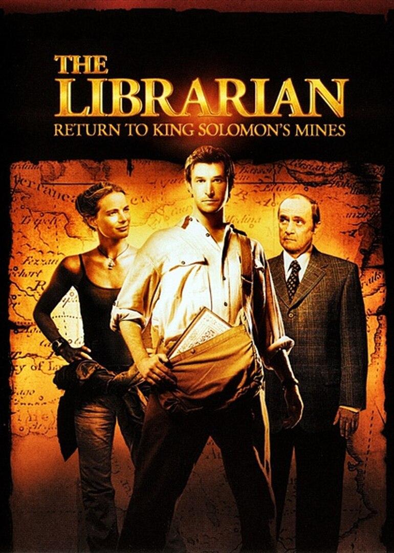 图书馆员:所罗门王的宝藏全集观看