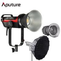 Aputure LS C300d 2 300d II LED Video Light COB Light 5500K Daylight Bowens Studio Photography + Fresnel 2x + Light Dome Mini II