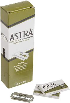 Astra superior platinum maszynka do golenia na żyletki o dwóch ostrzach ostrza do golenia zielony pakiet 5 sztuk 10 sztuk 20 sztuk 50 sztuk 100 sztuk 200 sztuk tanie i dobre opinie DE (pochodzenie) Razor Blade