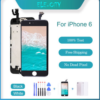 Grade AAA+ For iPhone 6 LCD Display Touch Screen For iPhone 6 Digitizer Replacement Assembly Parts With Gift No Dead Pixel image