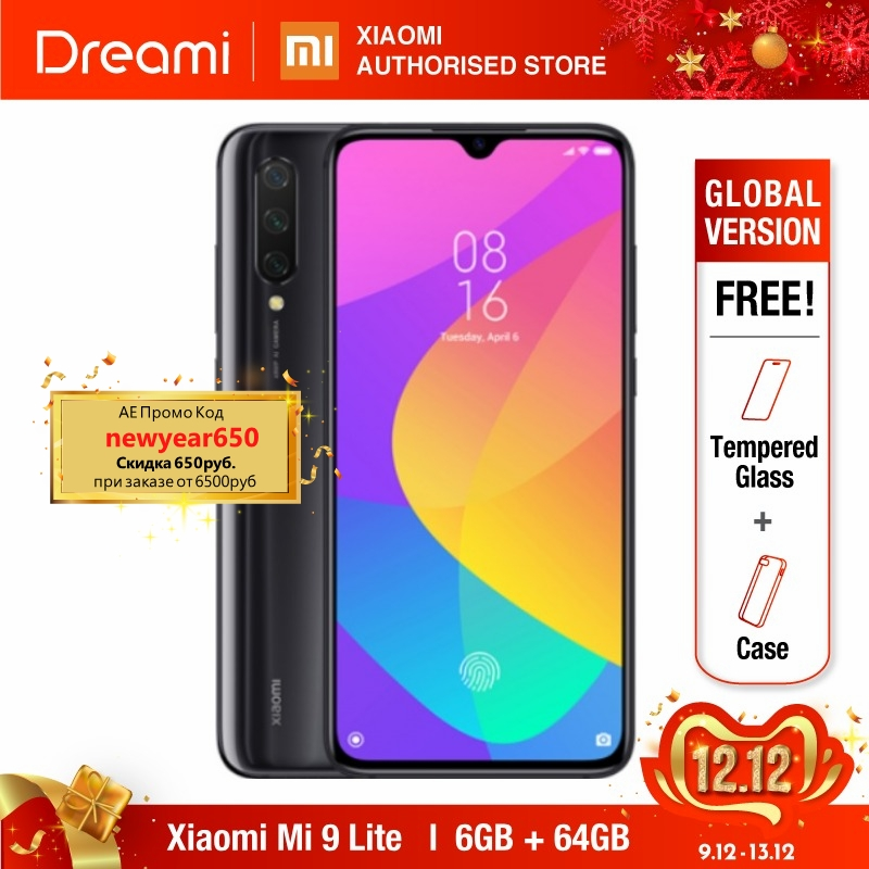 Global Version Xiaomi Mi 9 Lite 64GB ROM 6GB RAM (Brand New And Sealed) Mi9 Lite 64gb READY STOCKS