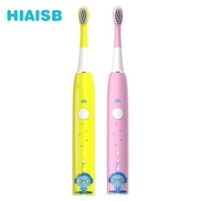 HIAISB 2-12Years Old Childrens Electric Toothbrush Smart Cleaning Mode For Kids