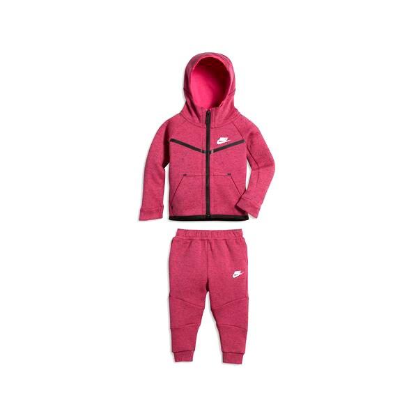 Baby's Tracksuit Nike 400-A3D Fuchsia Black