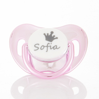 MIYOCAR custom pacifiers any name text can make BPA free safe personalized pacifierP dummy FDA pass baby best choice baby shower