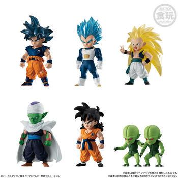 In Stock Original Bandai Dragon Ball Z DBZ Adverge 11 UI Goku Vegeta Piccolo Gotenks Yamcha PVC model Figure Toys Figurals Dolls цена 2017