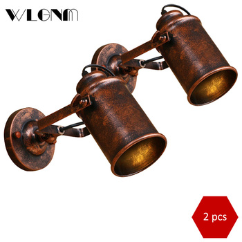 Wall lamp vintage retro wall lights industrial wall lamps loft country wall light fixtures for home cafe restaurant decoration vintage wall lamp industrial retro wall light creative water pipe wall sconce iron metal lamps for restaurant cafe bar kitchen