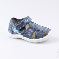 Summer shoes kotofey 221086 11 for boys blue
