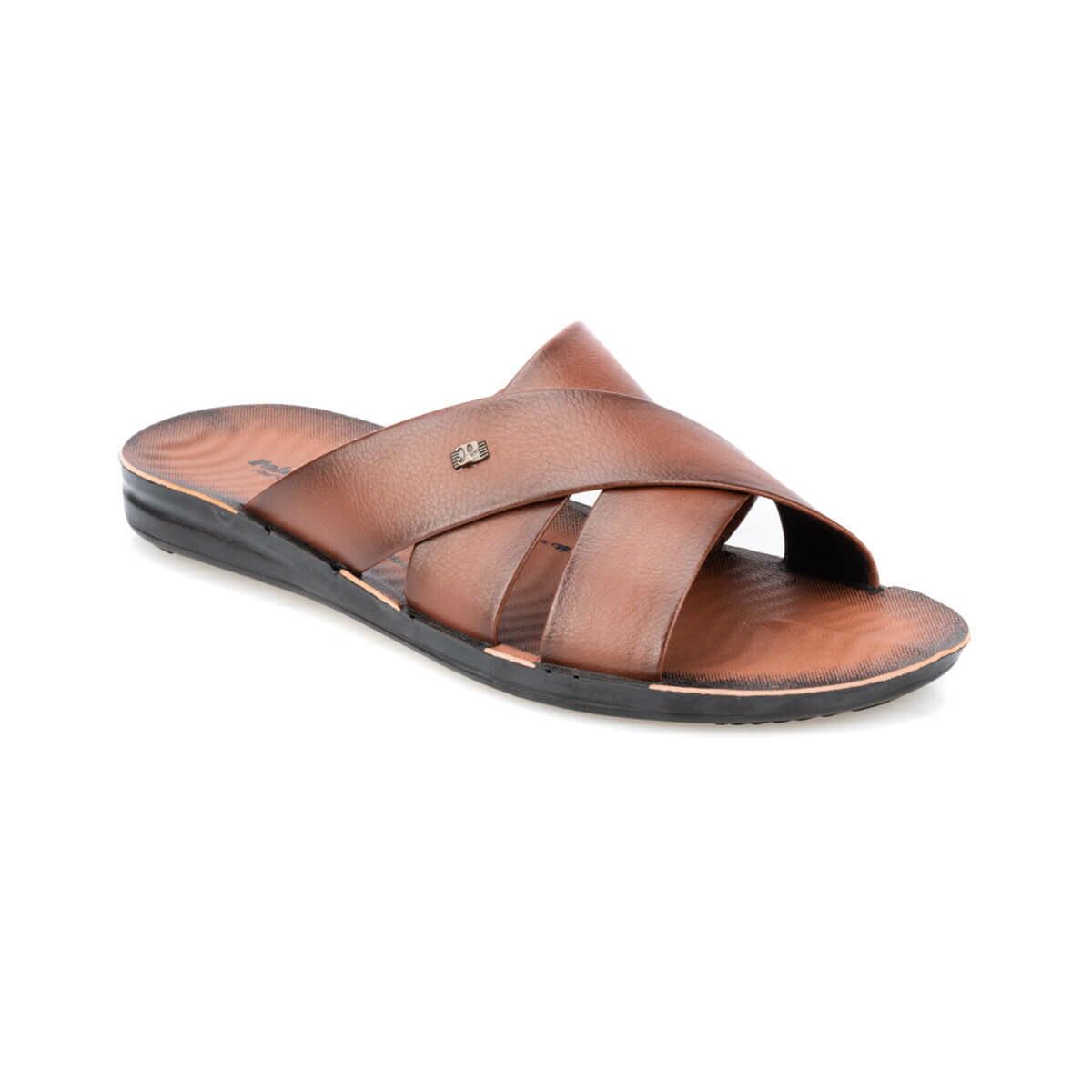 FLO 91.157723.M Tan Male Slippers Polaris
