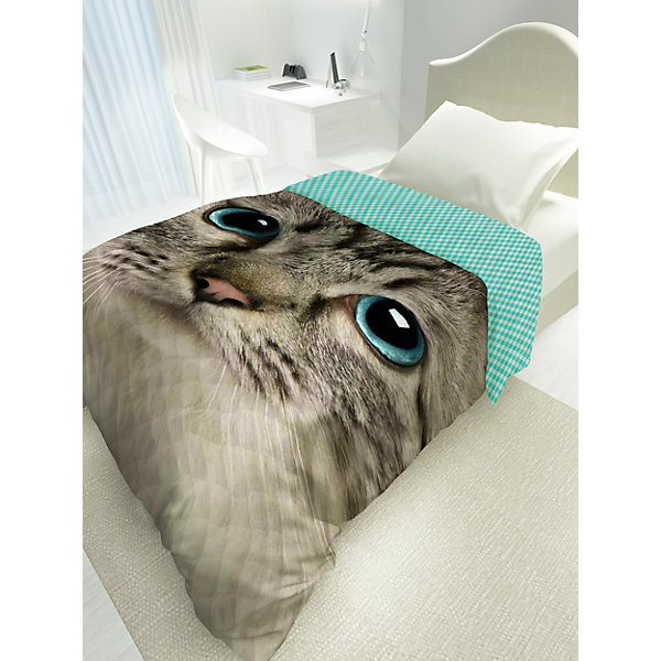 купить Bedspread with down 4 YOU Cute Cat MTpromo по цене 2076 рублей