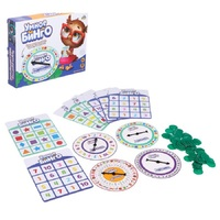 Board game Bingo. Smart tasks parent child interactive entertainment board toys stress relief toy for children