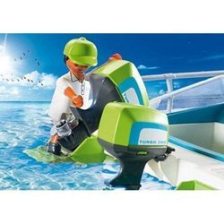 Ship Playmobil View Seabed with Submarine Engine