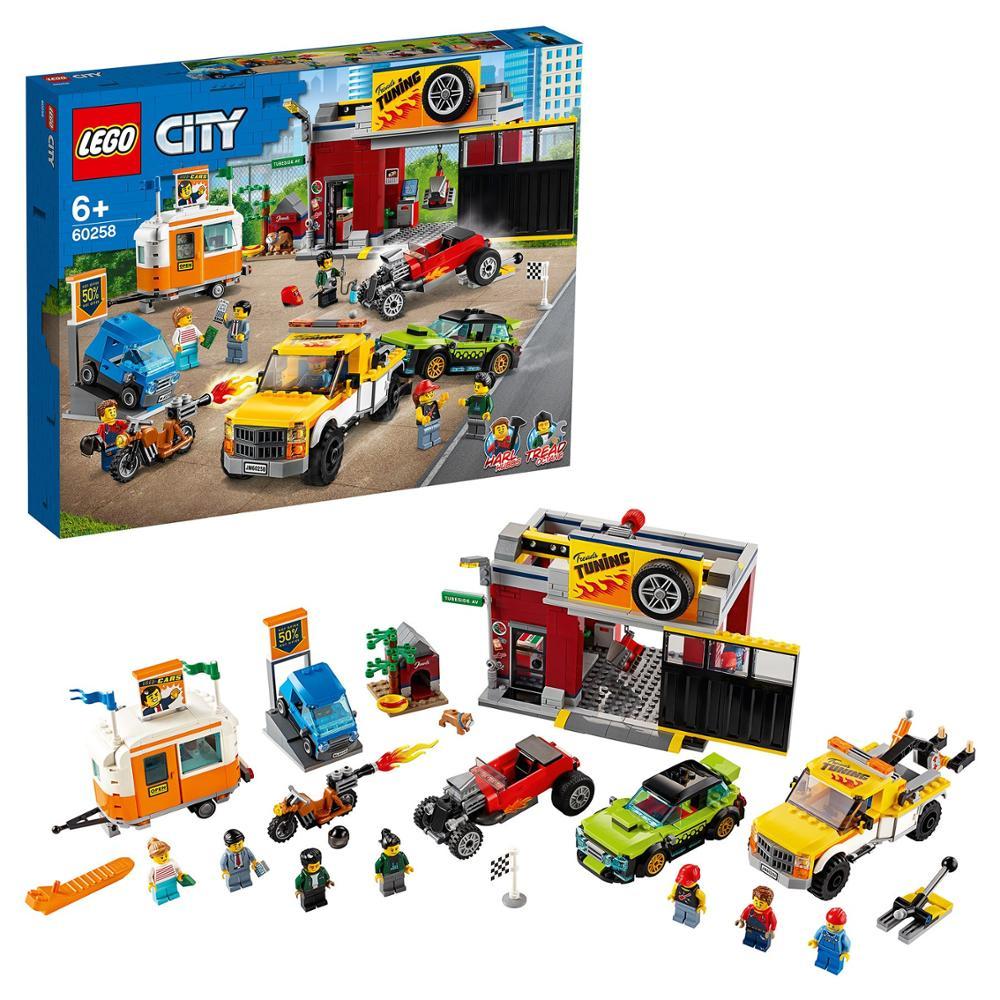 Designer Lego City Nitro Wheels 60258 Tuning-workshop