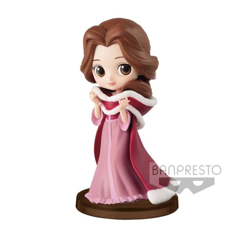 Beautiful Figure Winter Beauty And The Beast Disney Q Posket 7cm