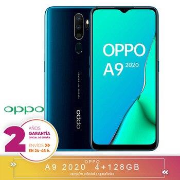 Перейти на Алиэкспресс и купить [Официальная гарантия испанской версии] Oppo A9 2020-смартфон 6,5 дюймHD +, 4G Dual Sim, 8 ядер/128 ГБ/4 Гб RAM