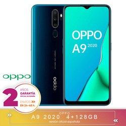 [Официальная гарантия испанской версии] Oppo A9 2020-смартфон 6,5 дюймHD +, 4G Dual Sim, 8 ядер/128 ГБ/4 Гб RAM