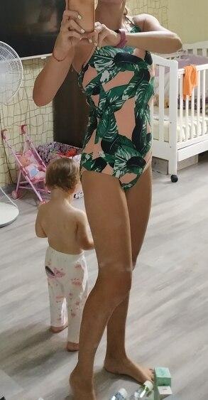 NAKIAEOI 2019 Sexy One Piece Swimsuit Push Up Swimwear Women Bodysuit Print Bandage Beach Wear Bathing Suit Monokini Swimsuit XL|xl swimsuit|xl womenxl monokini - AliExpress