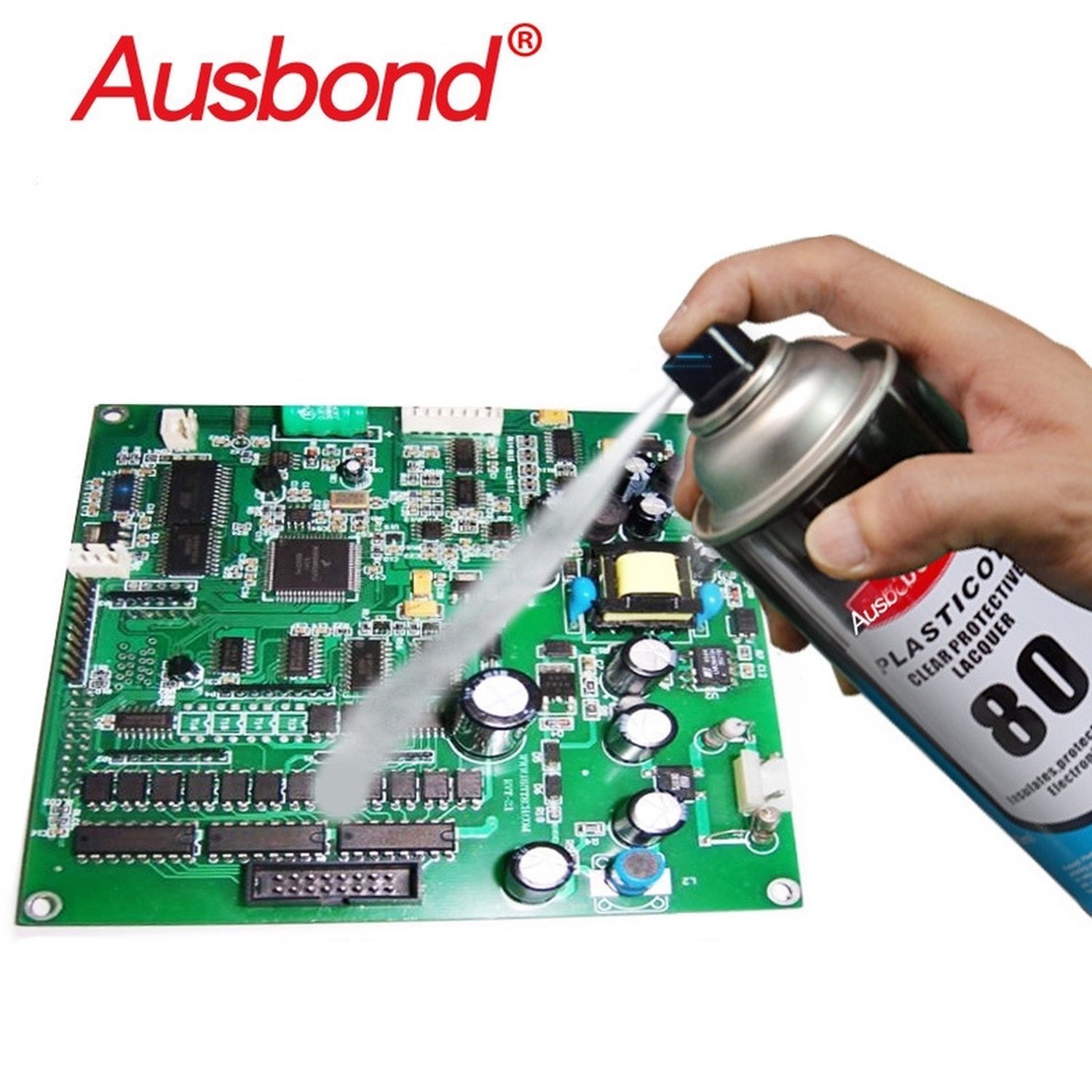 Ausbond®PlastiKote 80 Insulating Protector Spray For PCB Boards