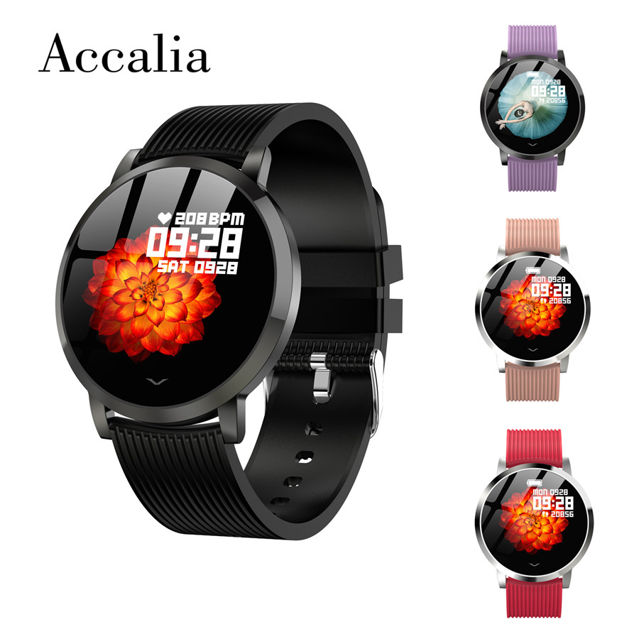 Accalia LV09 smart watch intelligent sport heart rate blood pressure oxygan monitor technology device wear exercise man