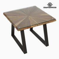 Centre Table Squared Wood   Autumn Collection by Craftenwood   -