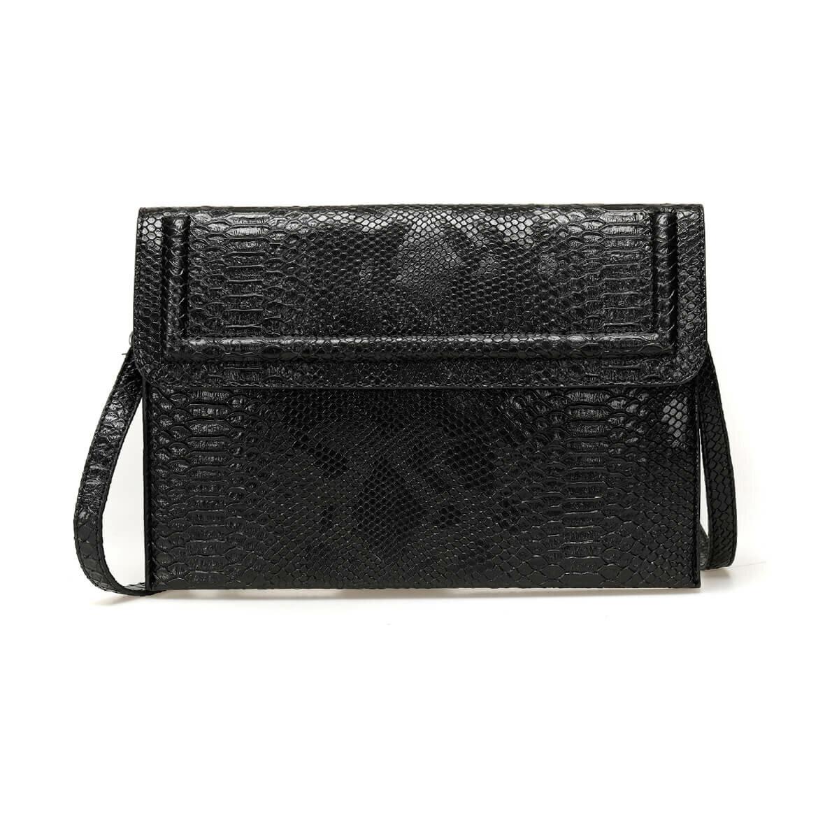 FLO TMK19056 85Z Black Women Handbag BUTIGO