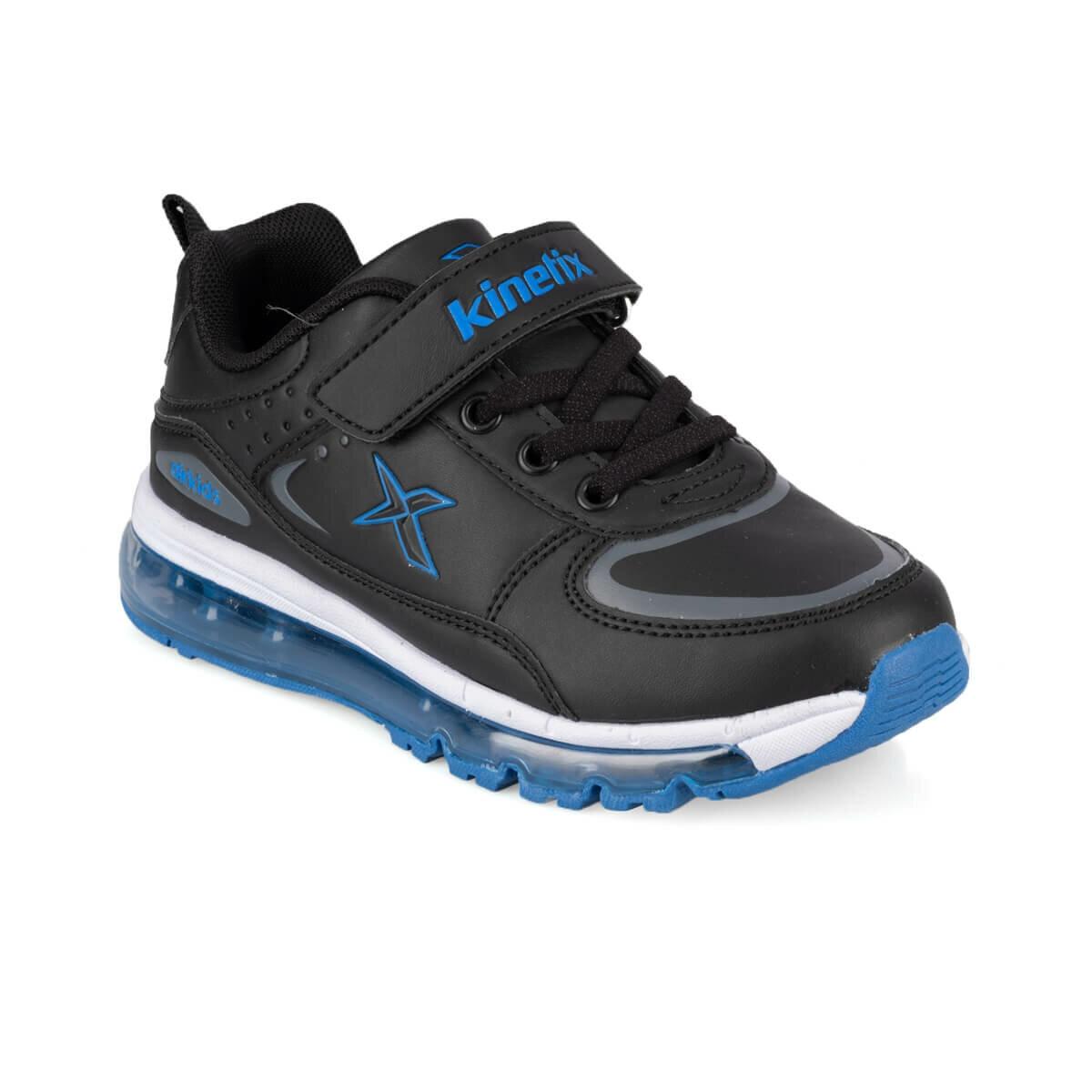 FLO LONAIR 9PR Black Male Child Running Shoes KINETIX
