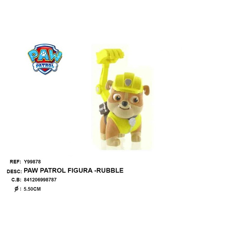 FIGURE RUBBLE_PAW PATROL