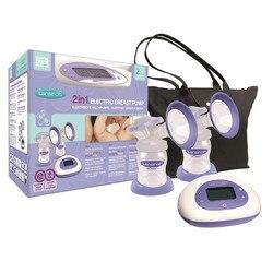 Tire-lait électrique 2-en-1 de Lansinoh à la fois confort et flexibilité conception hygiénique électrique simple ou double original