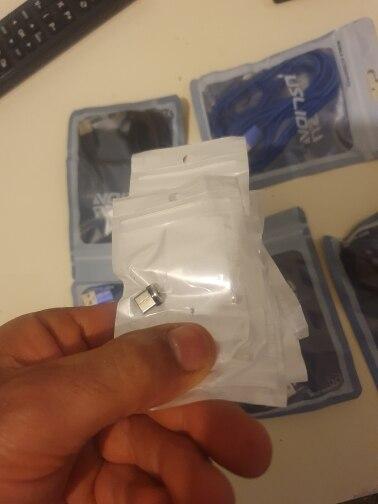 câble Micro USB/type-c magnétique avec LED, Charge rapide, transfert de données, compatible avec iPhone et Samsung