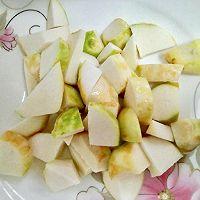 小白菜炖芋头的做法图解2