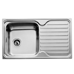Sink with One Basin Teka 11119005 CLASSIC 1C 1E Stainless steel