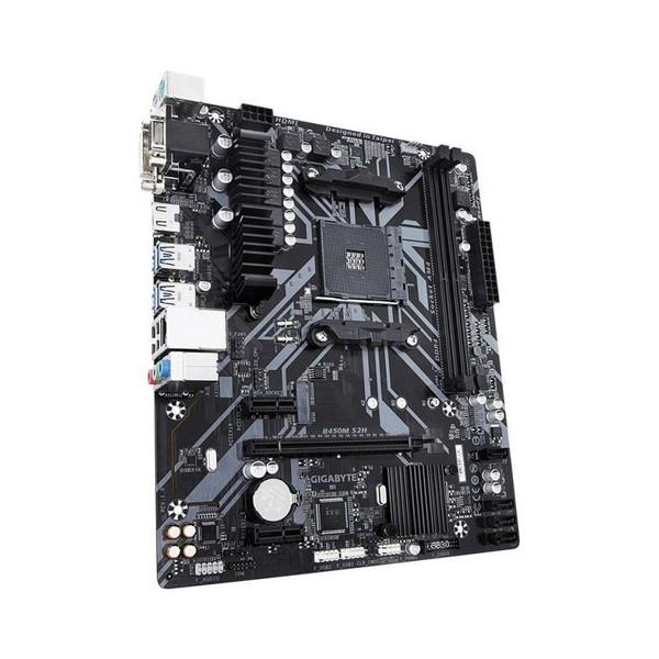 Gaming Motherboard Gigabyte B450M S2H MATX DDR4 AM4