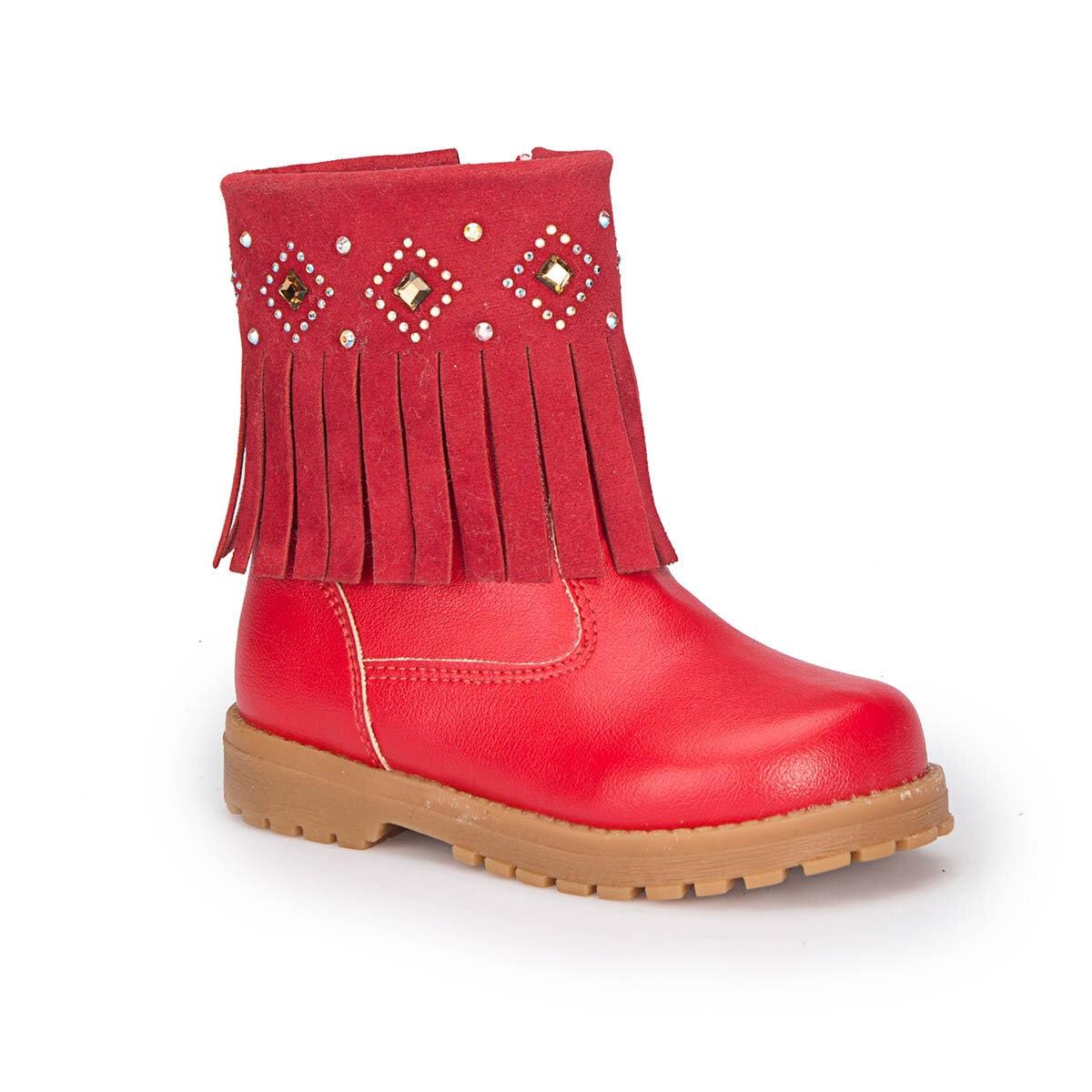 FLO 72. 509536.B Red Female Child Boots Polaris
