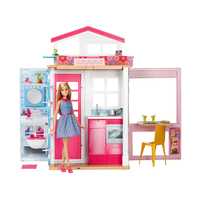 Game set Barbie House with doll