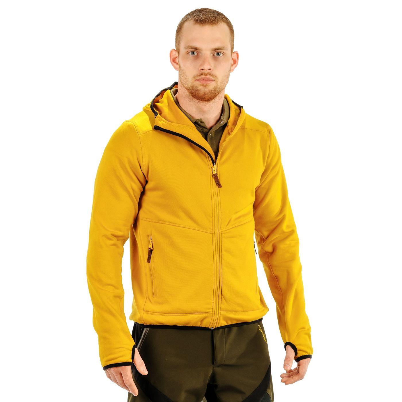 Fleece Jacket Fl-04, Yellow Fl-04 Yellow M